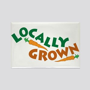 Locally Grown Rectangle Magnet