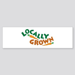 Locally Grown Sticker (Bumper)