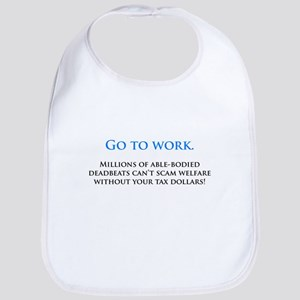 Go to work Bib