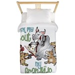 GOAT Ask Me About my Grandkids Twin Duvet