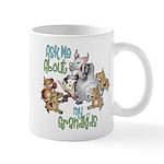 GOAT Ask Me About my Grandkids Mug