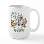 GOAT Ask Me About my Grandkids Large Mug