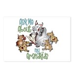 GOAT Ask Me About my Grandkids Postcards (Package