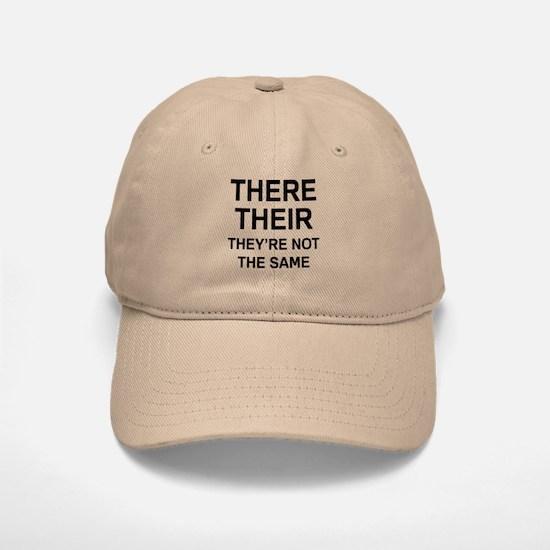 There Their Baseball Baseball Cap
