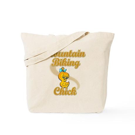 Mountain Biking Chick #2 Tote Bag