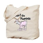 Funny Morning Goat Tote Bag