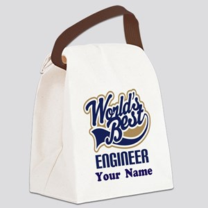 Personalized Engineer Canvas Lunch Bag