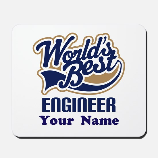 Personalized Engineer Mousepad