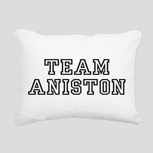 teamaniston Rectangular Canvas Pillow