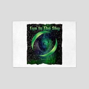 eye in the sky art illustration 5'x7'Area Rug
