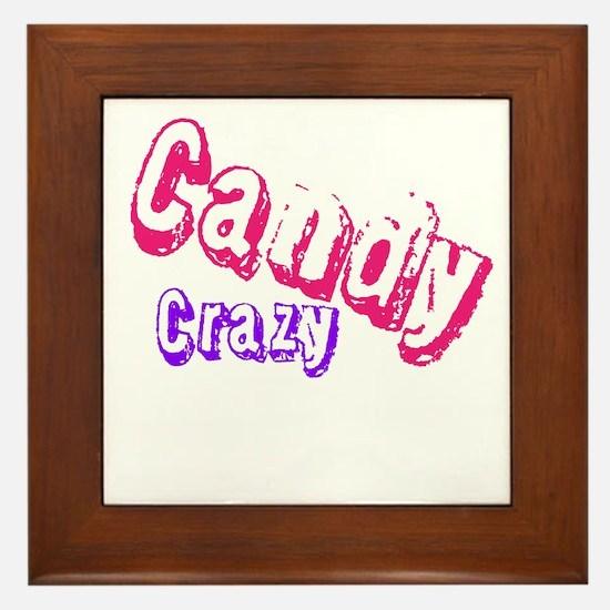 Candy Crazy Framed Tile