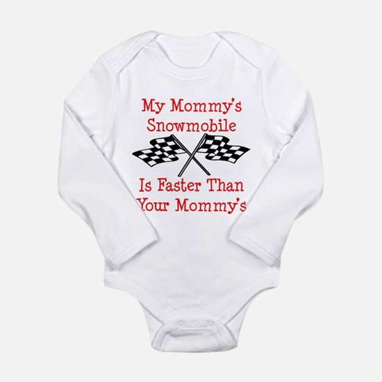Mommys Snowmobile Is Fast Body Suit
