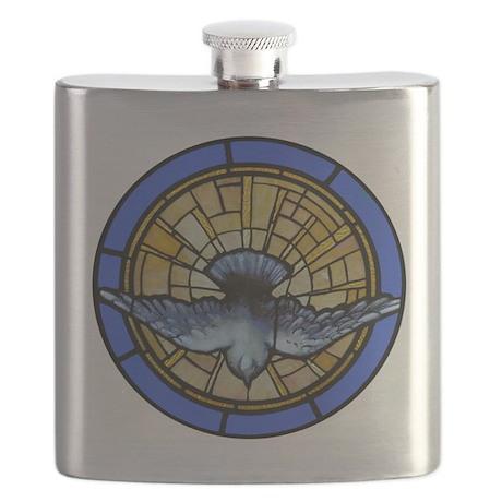 Holy Spirit Dove Flask