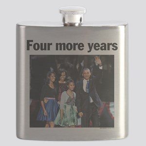 Four More Years: Obama 2012 Flask