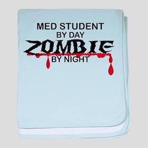 Med Student Zombie baby blanket