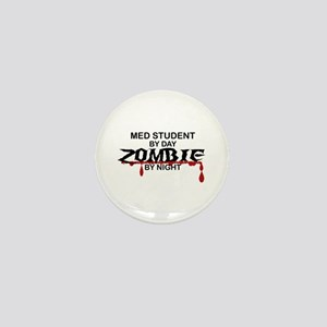 Med Student Zombie Mini Button
