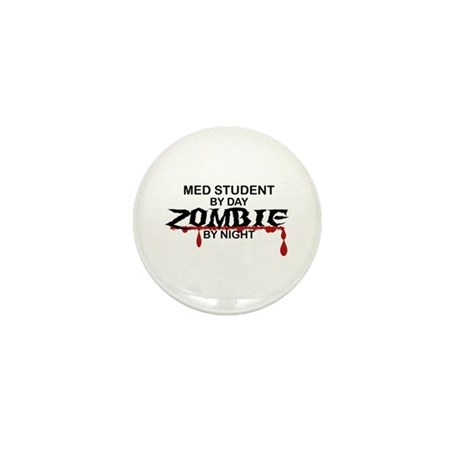 Med Student Zombie Mini Button (10 pack)