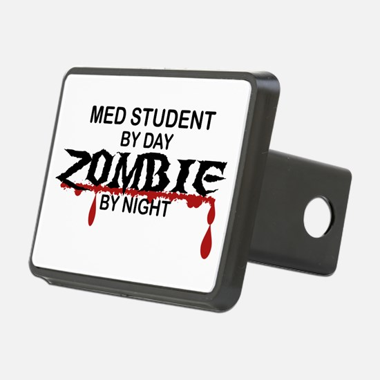 Med Student Zombie Hitch Cover