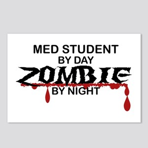 Med Student Zombie Postcards (Package of 8)