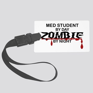 Med Student Zombie Large Luggage Tag