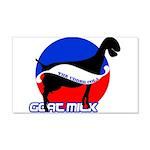 Goat Milk 20x12 Wall Decal