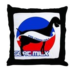 Goat Milk Throw Pillow