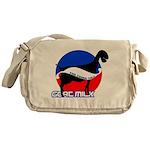 Goat Milk Messenger Bag