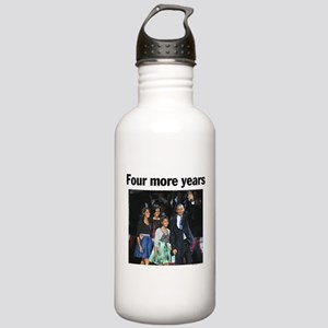 Four Mour Years: Obama 2012 Stainless Water Bottle