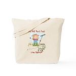 Funny Goat Berries Tote Bag