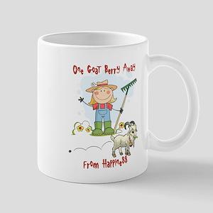 Funny Goat Berries Mug