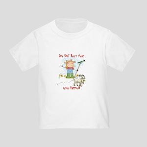 Funny Goat Berries Toddler T-Shirt