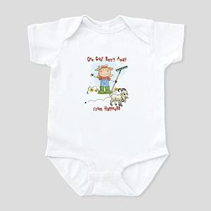 Funny Goat Berries Infant Bodysuit