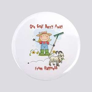 "Funny Goat Berries 3.5"" Button"