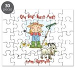 Funny Goat Berries Puzzle