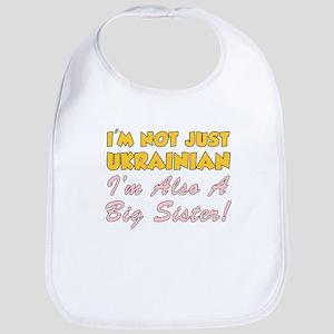 Not Just Ukrainian Big Sister Bib