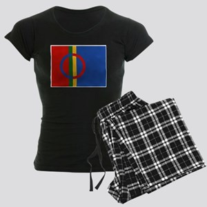 Sami Flag Women's Dark Pajamas