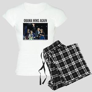 Obama wins again Women's Light Pajamas