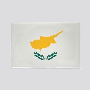 Cyprus flag Rectangle Magnet
