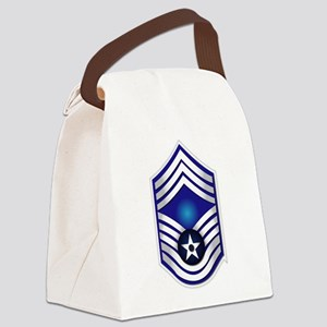 USAF - CMSgt(E9) - No Text Canvas Lunch Bag