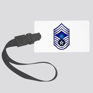 USAF - CMSgt(E9) - No Text Large Luggage Tag