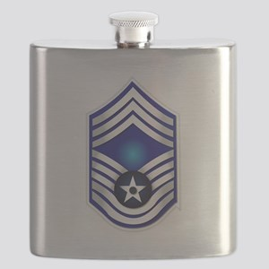 USAF - CMSgt(E9) - No Text Flask
