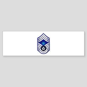 USAF - CMSgt(E9) - No Text Sticker (Bumper)
