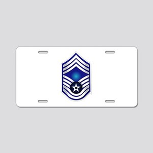 USAF - CMSgt(E9) - No Text Aluminum License Plate