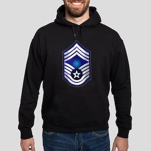 USAF - CMSgt(E9) - No Text Hoodie (dark)