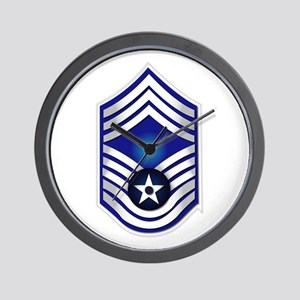 USAF - CMSgt(E9) - No Text Wall Clock