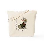 Cute Cartoon Boy Goat Tote Bag