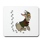 Cute Cartoon Boy Goat Mousepad