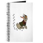 Cute Cartoon Boy Goat Journal