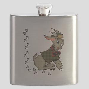 Cute Cartoon Boy Goat Flask