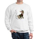 Cute Cartoon Boy Goat Sweatshirt